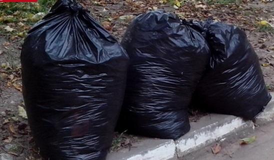 Белореченку заставили убрать мусор, который она выставила у дороги