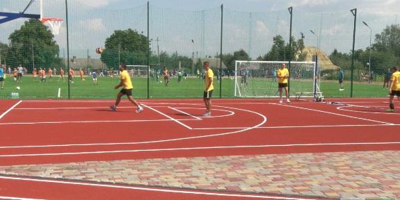 В Белореченске открыли новый спорткомплекс