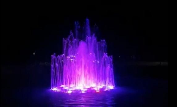 В Белореченске открыли обновленный фонтан