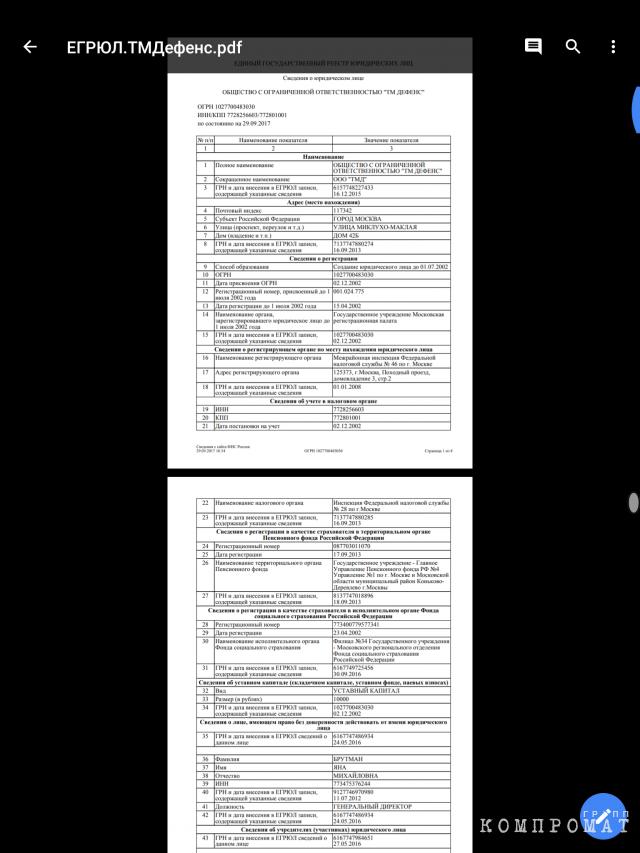 Документы Павла Ливинского